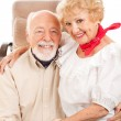 Country Western Seniors — Stock Photo
