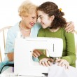 Quality Time with Grandma — Stock Photo