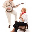 Senior Serenade — Stock Photo