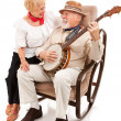Serenading His Sweetie — Stockfoto