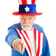 Stock Photo: Uncle Sam Wants You