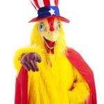 Куриные дяде хочет, чтобы вы — Стоковое фото
