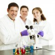 Happy Scientists in Lab — Stock Photo #6515612