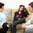 Counseling - Exasperation - Stock Photo