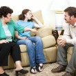 Stock Photo: Counseling - Family Drama