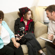 Stock Photo: Counseling - Mom Drives Me Crazy