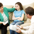 Counseling Series - Worried Mother — Stock Photo