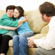 Stock Photo: Family Conflict Resolution