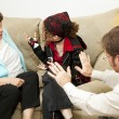 Family Counseling - Blame Mom — Stock Photo #6516243