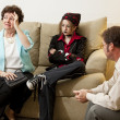 Family Counseling - In Crisis — Stock Photo