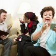 Family Counseling - Neglectful — Stock Photo