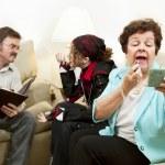 Family Counseling - Neglectful — Stock Photo