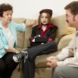 Family Counseling - She Drives Me Crazy — Stock Photo #6516250