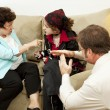 Family Counseling - Time Out - Stock Photo