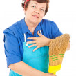 Stock Photo: Housekeeper's Fantasy