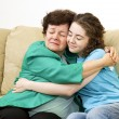 Mother Daughter Love - Stock Photo