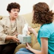 Teen Counseling - Have a Tissue — Stock Photo #6516314