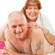 Massage with Love — Stock Photo #6516554
