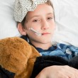Stock Photo: Sick Child