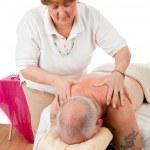 Therapeutic Massage — Stock Photo
