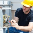 Air Conditioning Repair - Stock Photo
