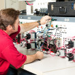 Electrical Engineering - Motor Control - Stock Photo