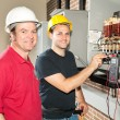 Electrician in Training — Stock Photo #6516759