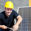 Green Job - Happy Worker — Stock Photo #6516770