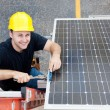 Stock Photo: Green Jobs - Renewable Resources