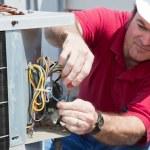 Repairing AC Compressor — Stock Photo