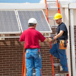Solar Panel Installation — Stock Photo #6516806