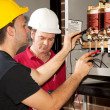Vocational Training - Electrician — Stock Photo #6516816