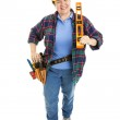 Cheerful Construction Woman — Stock Photo #6517008