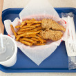 Fast Food Meal — Stock Photo
