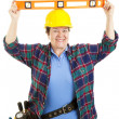 Royalty-Free Stock Photo: Level Headed Worker