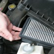 Dirty Car Air Filter - Photo