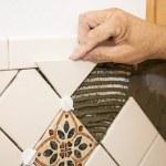 Setting Tile — Stock Photo