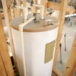 Water Heater Installed - Foto Stock