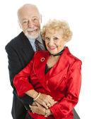 Beautiful Happy Senior Couple — Stock Photo