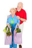 Environmentally Aware Seniors — Foto Stock