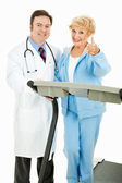 Medically Supervised Exercise Program — Stock Photo