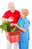 Senior Shoppers - Tomato for Her — Stock Photo