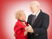 Valentine Senior Dance — Stock Photo