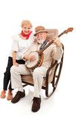 Country Music Seniors — Stock Photo