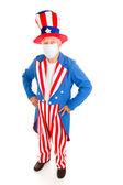 Epidemic - Uncle Sam — Stock Photo
