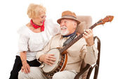 Old Fashioned Courting — Stock Photo