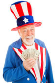 Rich Uncle Sam — Stock Photo