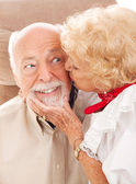 Senior Romance — Stock Photo