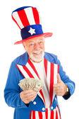 Uncle Sam - Economic Recovery — Stock Photo