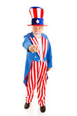 Uncle Sam Wants You - Full Body — Stock Photo